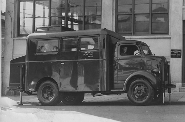 The peacetime Mobile Unit truck, c. 1946-7. Image courtesy of SANTK.