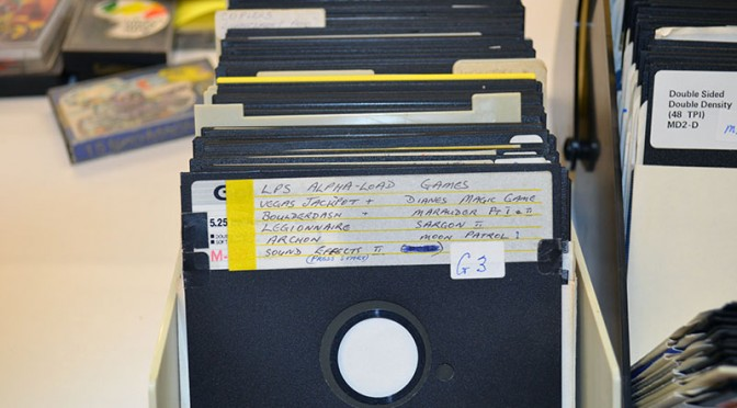 One of the lacquer disks in the SANKT collections. Image courtesy of SANTK.