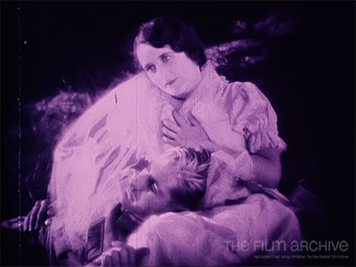 Acting lovesick in The Bush Cinderella (1928).