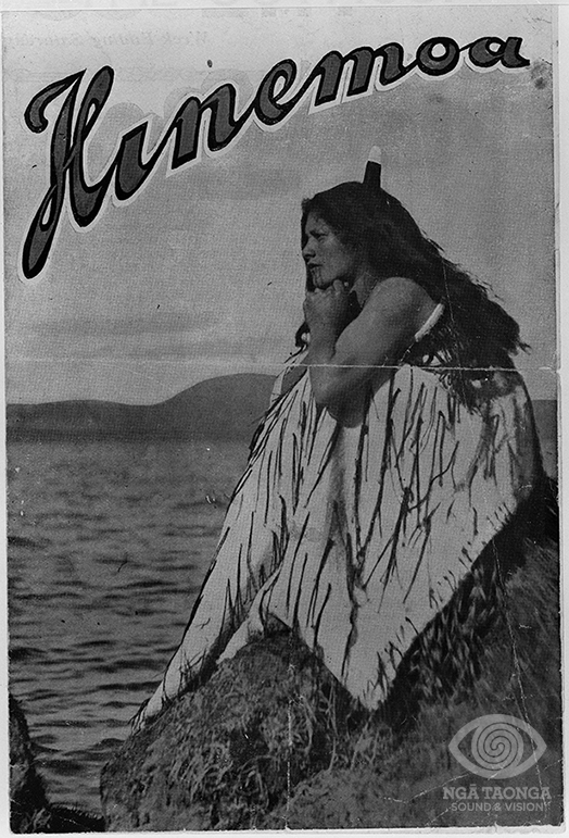 Hera Tawhai Rogers in the role of Hinemoa. Ngā Taonga Sound & Vision Documentation Collection.