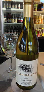 Our cafe is running a Sleeping Dogs Special - a ticket to the film and a glass of Sleeping Dogs Chardonnay for $12.00