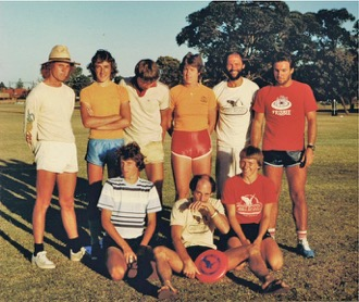One of our staff was part of the NZ Contingent at the 1981 Australian Flying Disc Nationals. We love the stubbies!