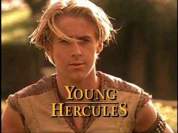 Young Canadian Ryan Gosling in Young Hercules. Image: (Image: Wikipedia).