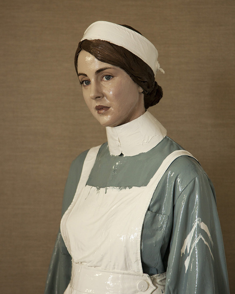 The Nurse: Nona Hildyard (Laura MacKay) – on display at Lyttelton Health Centre