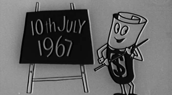 Decimal Currency – Mr. Dollar the Teacher 1967
