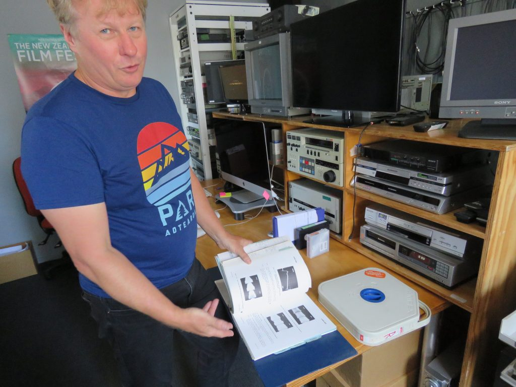 Adam Sondej and the AMPEX VPR-80 manual