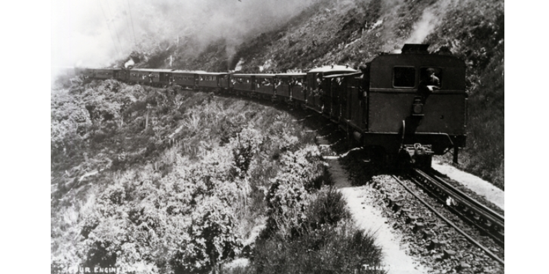 Fell engine on the Rimutaka Incline